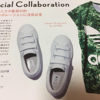 HYKE - 未使用 HYKE × adidas ハイク アディダス スニーカー ベルクロ