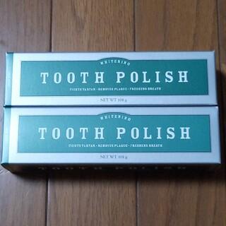 メラルーカ 歯磨き粉 トゥースポリッシュ 2本(歯磨き粉)