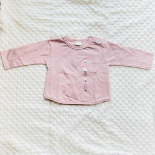 アカチャンホンポ(アカチャンホンポ)の長袖トップス ベビー服 70cm(Tシャツ)