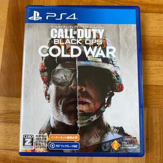 PlayStation4 - 中古PS4ソフト☆CALL OF DUTY BLACK OPS COLD WAR