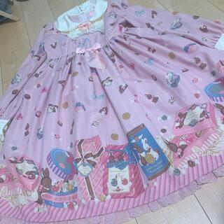 Angelic Pretty - アンジェリックプリティ bon bon bunny うさぎ ワンピース バニー