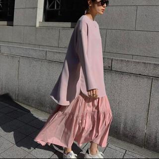 STUNNING LURE - machatt ロングスカート サテンスカート