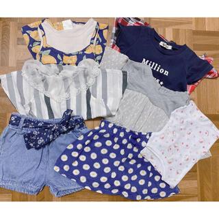 シマムラ(しまむら)のまとめ売り 90〜95cm(Tシャツ/カットソー)