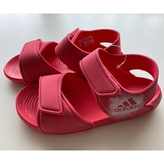 アディダス(adidas)の【新品未使用】アディダスキッズサンダル 20㎝(サンダル)