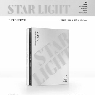 ASTRO  STAR LIGHT DVD 新品未開封