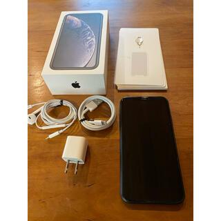 iPhone - iPhone XR 128GB ブラック SIMロック解除済
