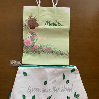 メルヴィータ(Melvita)のメルヴィータ ポーチ  紙袋着き(ポーチ)