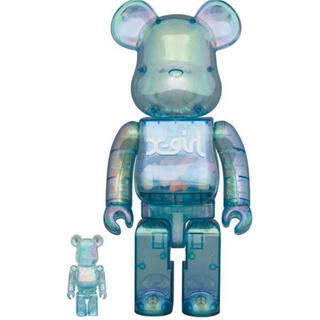 MEDICOM TOY - X-girl × BE@RBRICK 100%400%