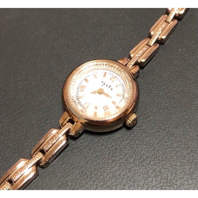 agete(アガット)のお値下げ済✧agete ラウンドフェイスソーラーウォッチ ソーラー腕時計 レディースのファッション小物(腕時計)の商品写真