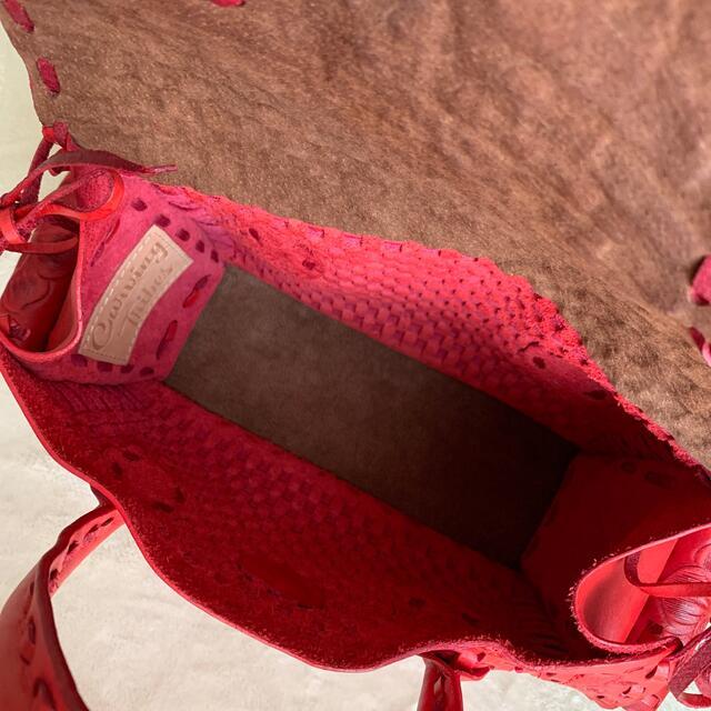 GRACE CONTINENTAL(グレースコンチネンタル)のグレースコンチネンタル カービングバック レディースのバッグ(ハンドバッグ)の商品写真