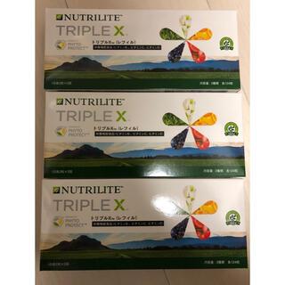 アムウェイ(Amway)の新品 未開封 送料込 アムウェイトリプルXレフィル 3個セット(ビタミン)