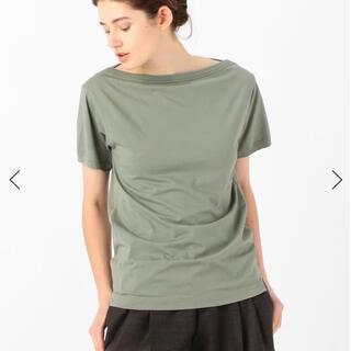 ジョンリンクス(jonnlynx)のFUMIKA_UCHIDA ボートネックショートスリーブTシャツ(Tシャツ(半袖/袖なし))