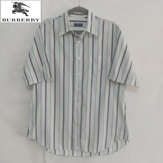 バーバリー(BURBERRY)のバーバリー 半袖シャツ Lサイズ(シャツ)