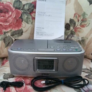 SONY - 美品 SONYソニーCDラジオカセットコーダー