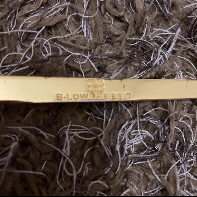 DEUXIEME CLASSE(ドゥーズィエムクラス)のB-LOW THE BELT/PLATE BELTベルト/レザー レディースのファッション小物(ベルト)の商品写真