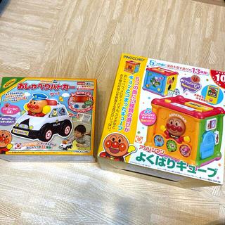 アンパンマン(アンパンマン)のアンパンマン  おもちゃ よくばりキューブ おしゃべりパトカー(知育玩具)