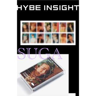 ボウダンショウネンダン(防弾少年団(BTS))のHYBE INSIGHT 公式商品 Photocard BTS ユンギ トレカ(アイドルグッズ)