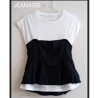 【美品】JEANASIS ビスチェ付きTシャツ フリーサイズ