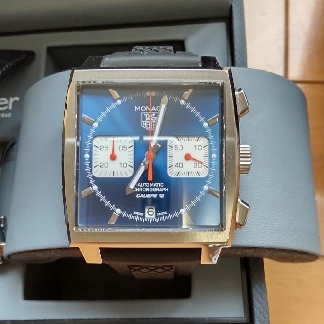 TAG Heuer(タグホイヤー)のTAG Heuer タグホイヤー モナコ キャリバー12 2019年式 メンズの時計(腕時計(アナログ))の商品写真