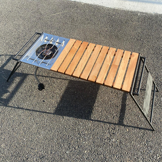 Snow Peak(スノーピーク)のIGTアイアンテーブル『値引き可‼︎』 スポーツ/アウトドアのアウトドア(テーブル/チェア)の商品写真