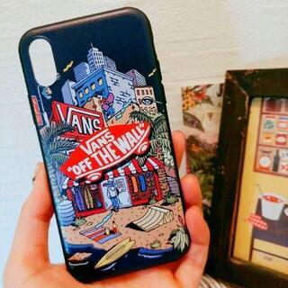 iPhone - VANS ビーチ 総柄 iphoneケース 各種サイズ