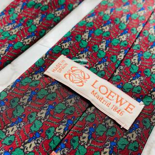 ロエベ(LOEWE)の即購入OK!3本選んで1本無料!Loewe ロエベ ネクタイ  6158(ネクタイ)