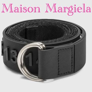 Maison Martin Margiela - 【新品】メゾンマルジェラ リングベルト ナンバーロゴ ペイント加工