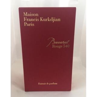 メゾンフランシスクルジャン(Maison Francis Kurkdjian)の◎新品/未使用 メゾンクルジャン バカラ ルージュ 540 オードパルファム(香水(女性用))