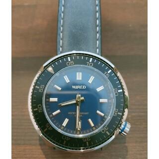 ワイアード(WIRED)のWIRED ツナ缶タイプ VH31-KBC0   腕時計 美品(腕時計(アナログ))