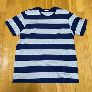 ジーユー(GU)のGU/ボーダーTシャツ(Tシャツ/カットソー(七分/長袖))