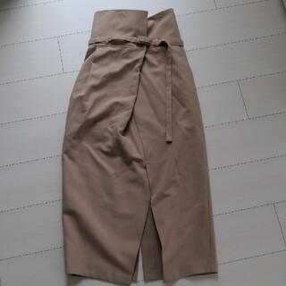 エンフォルド(ENFOLD)のデザインスカート(ロングスカート)