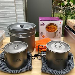 ユニフレーム(UNIFLAME)のユニフレーム クッカー UNIFLAM チタンマグカップ 2個(食器)