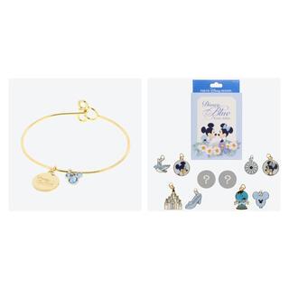 Disney - 新商品 ブルーエバーアフター ゴールドブレスレット & チャーム1BOXセット