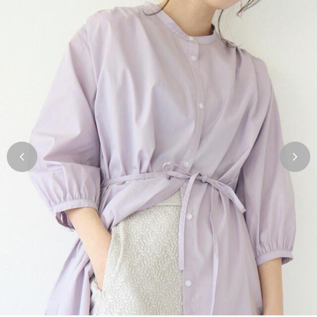 しまむら(シマムラ)のてらさん シャツワンピースM レディースのトップス(シャツ/ブラウス(長袖/七分))の商品写真