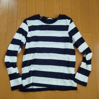ジーユー(GU)のGUロングティーシャツ(Tシャツ/カットソー(七分/長袖))