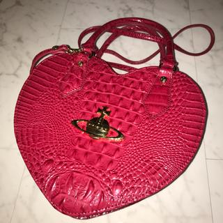 Vivienne Westwood - Vivienne Westwood ヴィヴィアン ハート型バッグ クロコ型