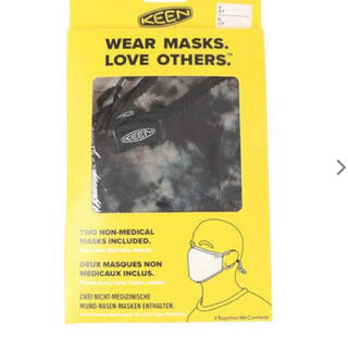 キーン(KEEN)のキーン(KEEN)TOGETHER マスク 洗えるマスク 2枚セット (その他)