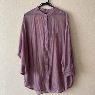 アルシーヴ(archives)のarchives バンドカラーシャツ(シャツ/ブラウス(長袖/七分))