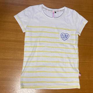 ピンクラテ(PINK-latte)のピンクラテ 160サイズ 二枚セット(Tシャツ/カットソー)