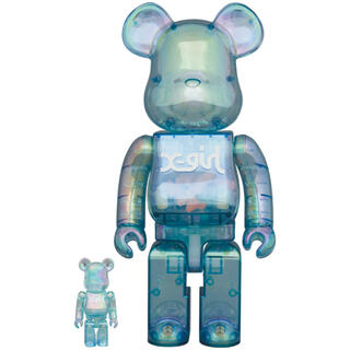 MEDICOM TOY - X-girl BE@RBRICK 100%&400%