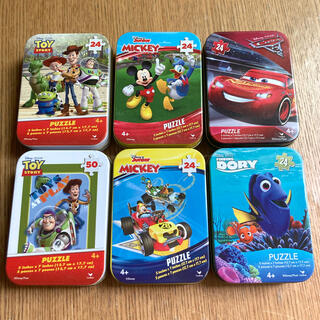 Disney - ディズニー パズル 6個セット