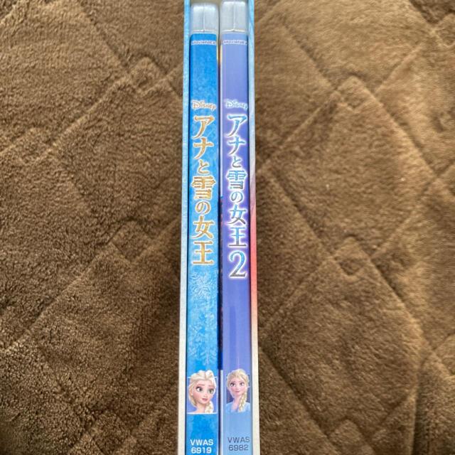 Disney(ディズニー)の【未再生新品】アナと雪の女王1.2 ブルーレイ エンタメ/ホビーのDVD/ブルーレイ(キッズ/ファミリー)の商品写真