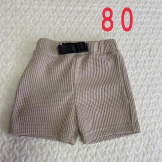 シマムラ(しまむら)のワッフルハーフパンツ 80(パンツ/スパッツ)