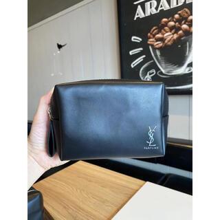 イヴサンローランボーテ(Yves Saint Laurent Beaute)の新品☆YSLイヴ・サンローランシャネルノベルティpouch cブラックBIG(ポーチ)