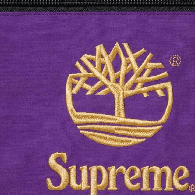 Supreme(シュプリーム)のsupreme timberland reflective anorak L 紫 メンズのジャケット/アウター(ナイロンジャケット)の商品写真