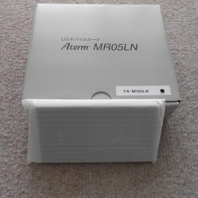 NEC(エヌイーシー)のNEC Aterm MR05LN スマホ/家電/カメラのスマートフォン/携帯電話(その他)の商品写真