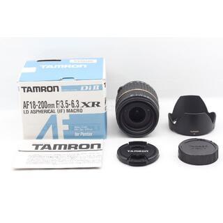 タムロン(TAMRON)のTAMRON AF18-200mm ペンタックス用  A14P #00077(レンズ(ズーム))