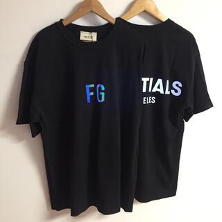 FEAR OF GOD - サイズM黒二枚セット反射光りfogessentials Tシャツ