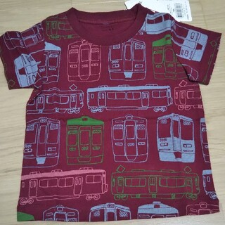 ブランシェス(Branshes)のブランシェス 阪急電車 半袖Tシャツ 90(Tシャツ/カットソー)