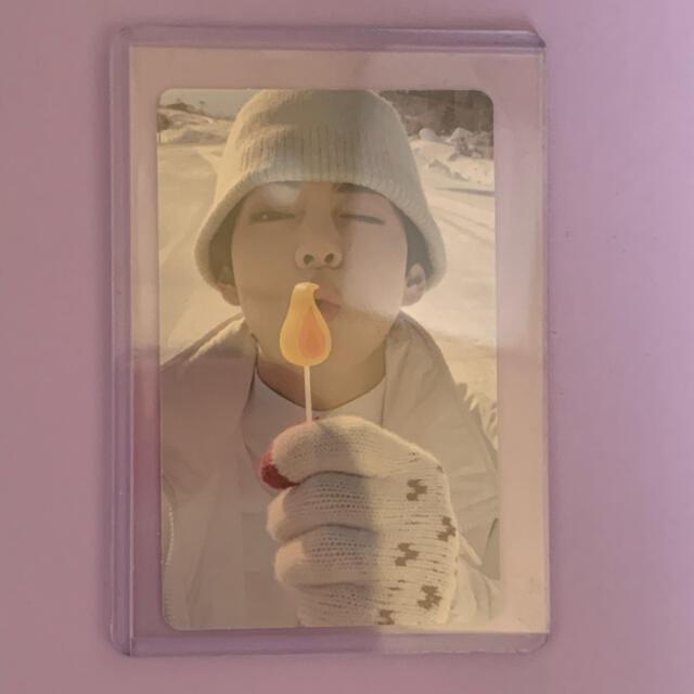 防弾少年団(BTS)(ボウダンショウネンダン)のbts ウィンパケ テヒョン トレカ エンタメ/ホビーのタレントグッズ(アイドルグッズ)の商品写真